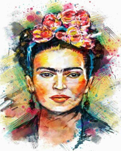 Brazil Portrait Frida Kahlo Painting Artwork Paint By Numbers Kit DIY