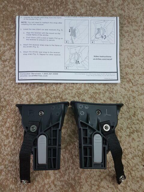 Britax B Agile Bob Travel System Recall Repair Kit H1 With