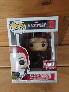 Funko Pop Black Widow: Black Widow #619 Marvel Collector Corps Exclusive
