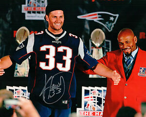 Details about Kevin Faulk New England Patriots Signed Autographed HOF 8x10 Photo Tom Brady