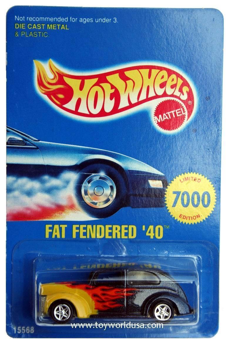 promociones de equipo 1996 Hot Wheels Early Times medio'96 Varilla De Invierno Invierno Invierno ejecutar Grasa fenderojo'40 Ltd. Edition  descuento de ventas en línea