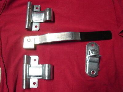 truck cargo trailer door lock HASP /& HANDLE KEEPER 5sqh