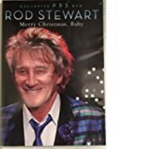 Rod-Stewart-Merry-Christmas-Baby-DVD-VIDEO-MOVIE-Exclusive-PBS-Mary-J-Blige