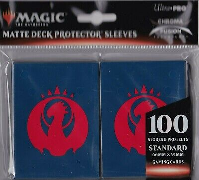 100 Count Ultra Pro Magic The Gathering Guilds of Ravnica Izzet Deck Protector Sleeves