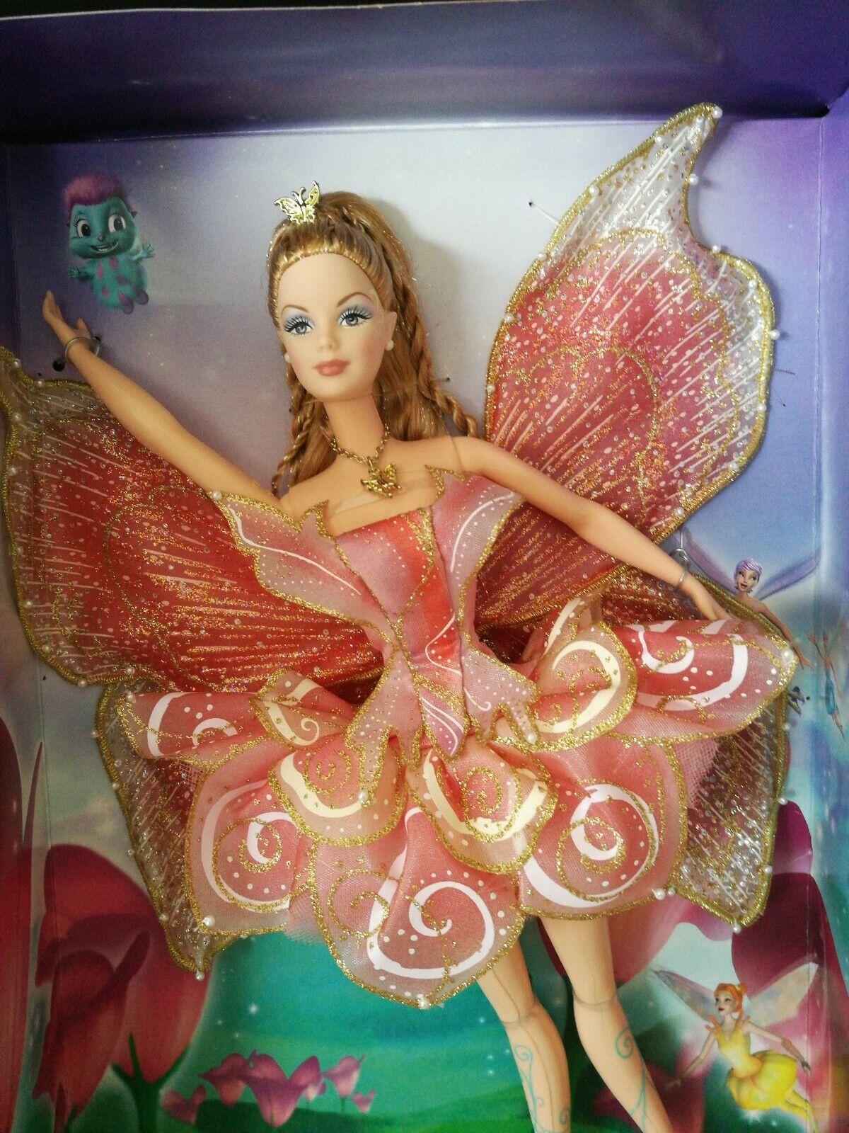 RARE  Barbie Elina Live  Fairytopia NRFR 2006  popolare