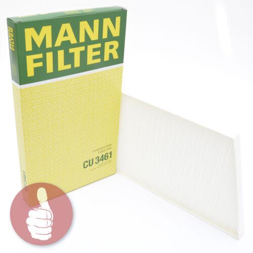 Mann-Filter filtro interior espacio aéreo cu 3461 para Mercedes-Benz
