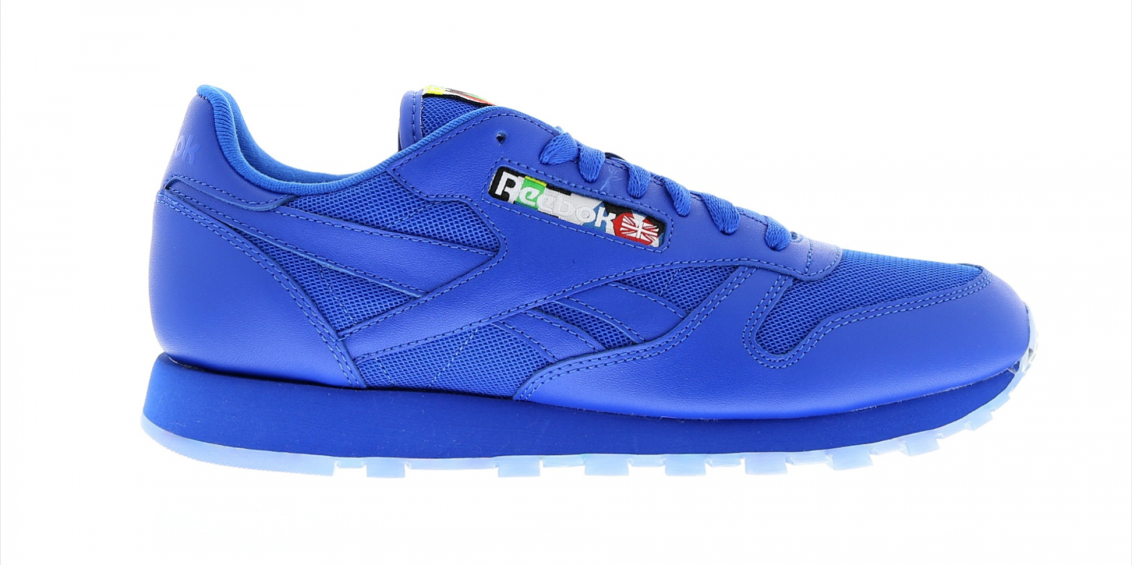 Mens REEBOK CL LEATHER BF BLUE Trainers BD2950