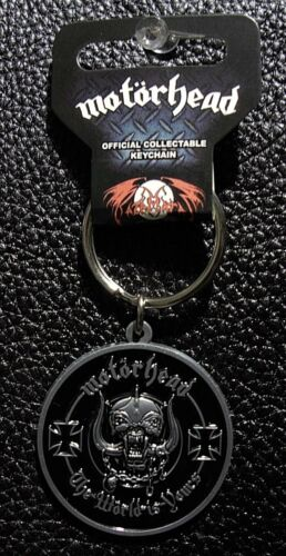 OFFICIAL THE WORLD IS YOURS KEYCHAIN METAL KEYRING LEMMY Details about  / MOTORHEAD