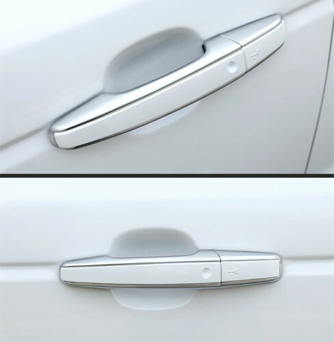 1:1 Replace Chrome+White Door handle Cover trim For land Range Rover Evoque