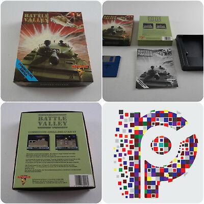 Battaglia Valle Una Hewson Gioco Per Il Computer Commodore Amiga Testato Funzionante In Buonissima Condizione- Superficie Lucente