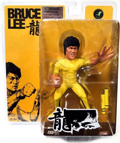 FanAtiks Series 1 Bruce Lee Action Figure [Game of Death]