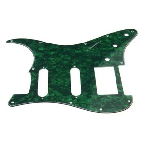 1-HSS-3-Ply-Electric-Guitar-Pickguard-Green-Pearl-for-Fender-Strat-Stratocaster