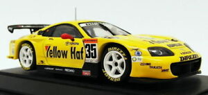 Ebbro-1-43-Scale-Model-Car-598-Toyota-Supra-35-Yellow-Hat-JGTC-2004
