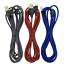 miniature 12 - 3Pack 10Ft Braided USB Fast Charger Cable For iPhone 12 11 8 6 XR Charging Cord