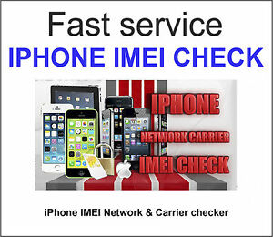 check iphone imei fast iphone imei checker network amp carrier check sim lock 10388