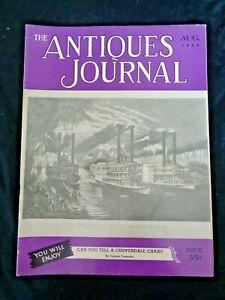 Antiques-Journal-1952-Louis-Comfort-Tiffany-Favrile-Vases-Josiah-Wedgwood-Teapot
