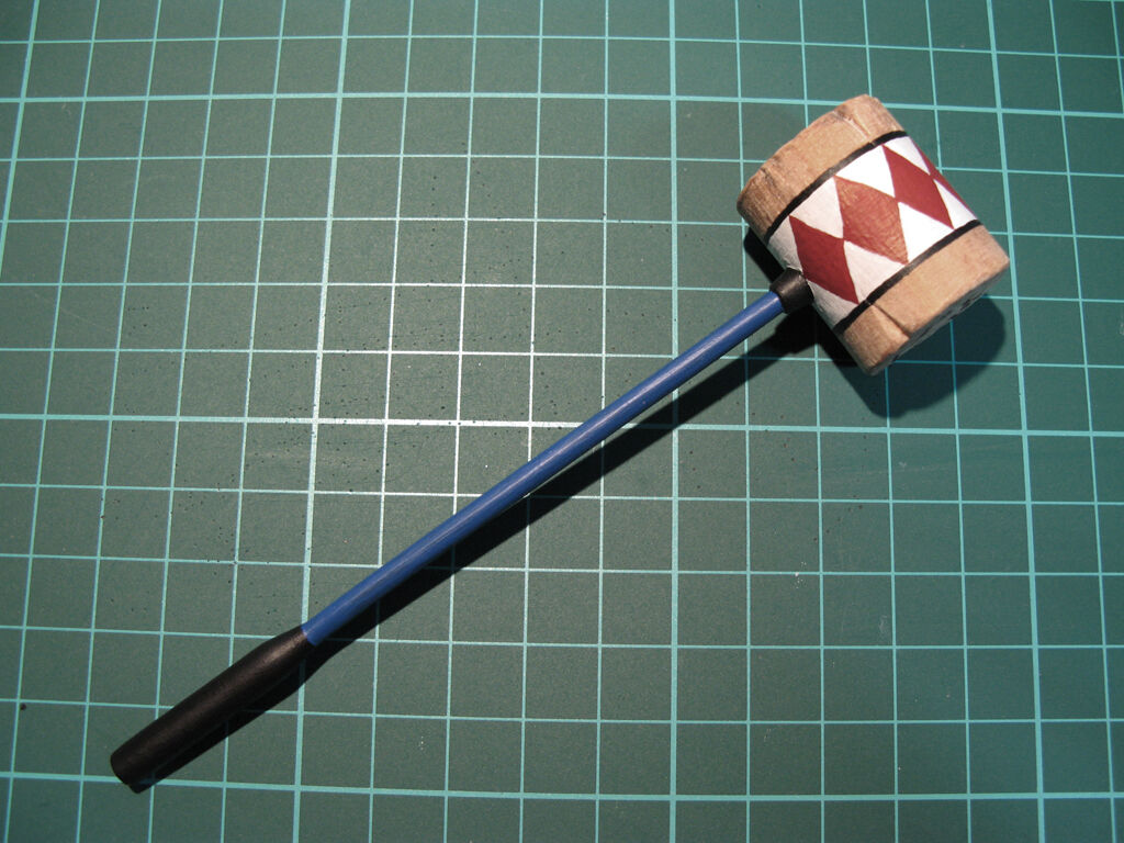 1/6 scale Suicide Squad Harley Quinn hammer - handmade - wood