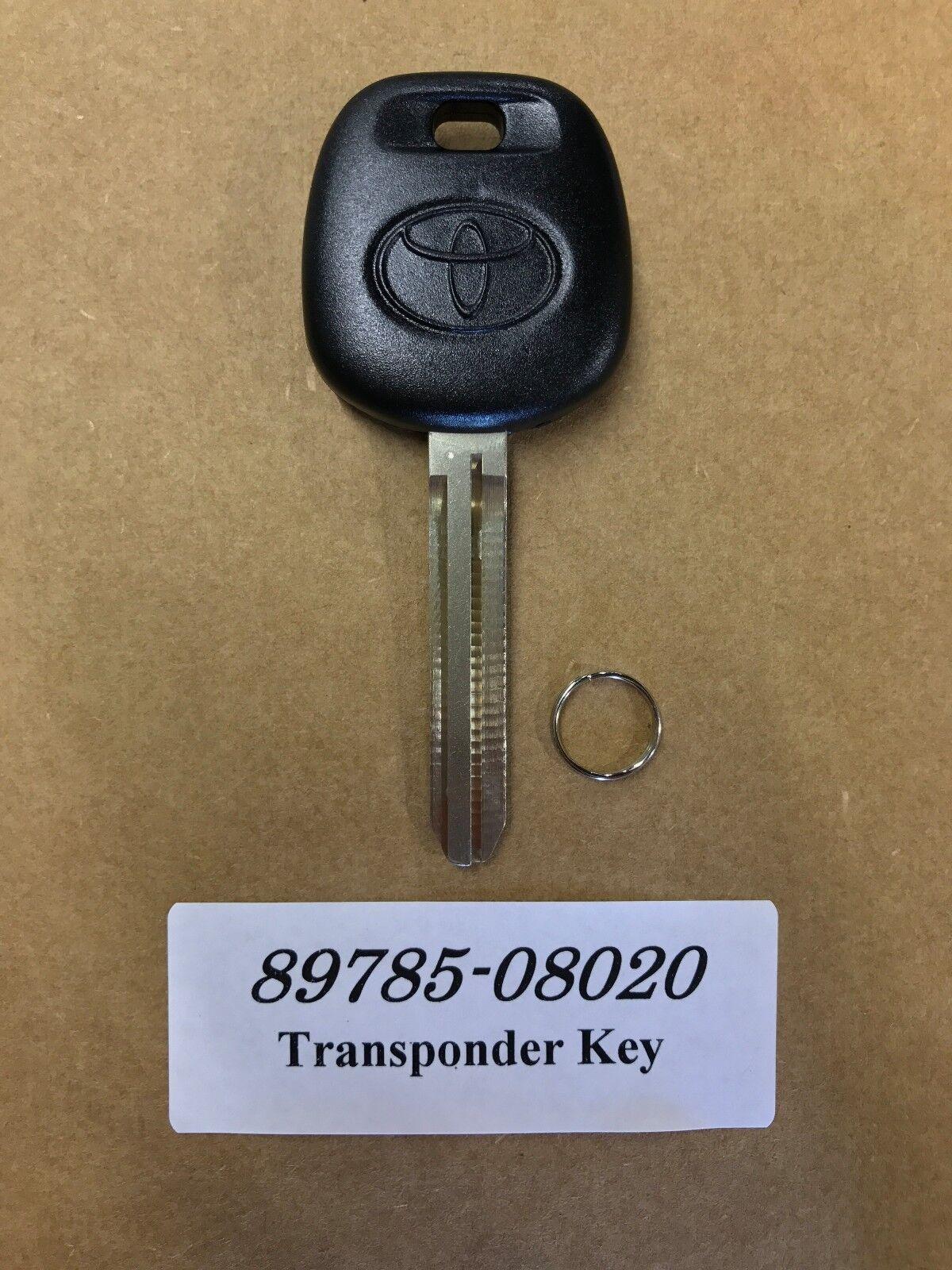 Oem Rubber Toyota Transponder Chip Dot Key 4d 89785 08020 Ebay 20072008 Infiniti G35 Smart Keyless Entry Remote Dealer Program Norton Secured Powered By Verisign
