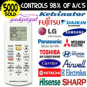 Universal-A-C-Air-Con-Conditioner-Remote-Centrex-Fujitsu-LG-Carrier-ALL-BRANDS