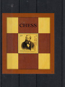 St Vincent Et Grenadines 2013 Neuf Sans Charnière échecs 1v S / S Wilhelm Steinitz Champion Du Monde-afficher Le Titre D'origine
