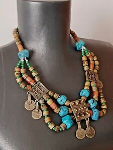 Antique-necklace-Mediterranean-Middle-East-Bedouin-Kuchi-Tribal