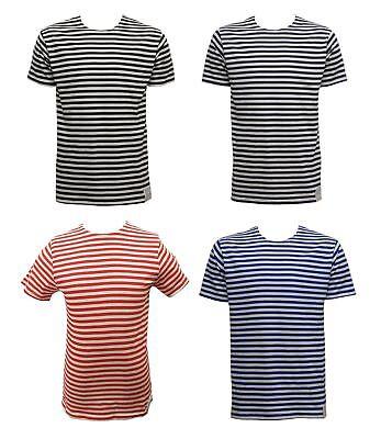 Unito Nuovo Russo Telnyashka Manica Corta Sailor's Blu Scuro's T-shirt-mostra Il Titolo Originale