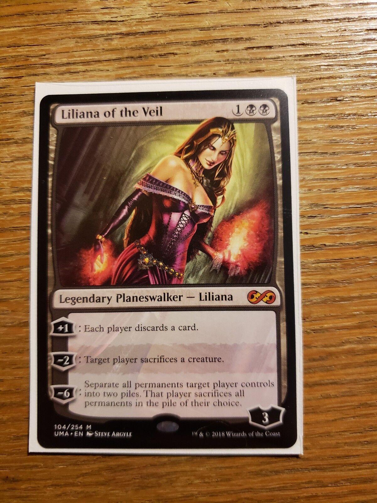 Liliana of the Veil x 1 (Ultimate Masters) MTG (Mint)