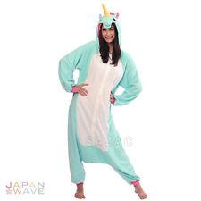SAZAC BLUE Unicorn Kigurumi/Animal/ Pajamas/Cosplay/Halloween/one size/fleece