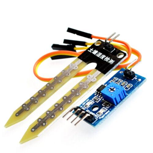 Soil Humidity Hygrometer Moisture Detection Sensor Module for Arduino Probe