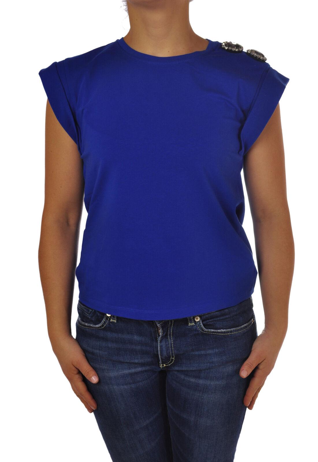 roseo - Topwear-T-shirts - femmes - bleu - 4776227G190512