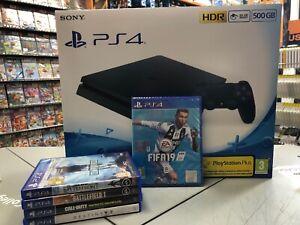 Sony PlayStation 4 F 500GB Console - Nera