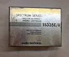 Audio Technica SS335E/U Cartridge 0.4x 0.7 mil BiRadial Diamond Stylus NEW!