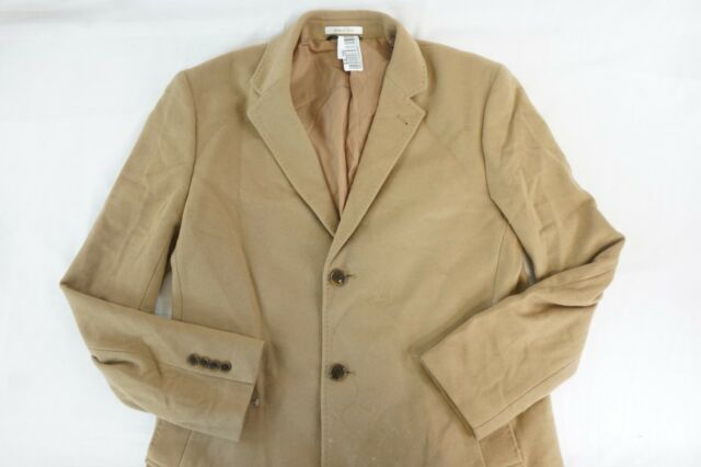 82e1370624f9 NWT RALPH LAUREN Men's Camel Luther Classic Fit Wool Cashmere Blend Overcoat  42L