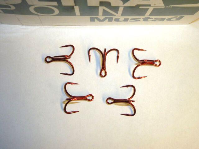 Mustad Kvd Elite TG76NP-BN-TRIPLE Grib TREBLE-1X-SHORT-SHANK-PICK Größe und Pack
