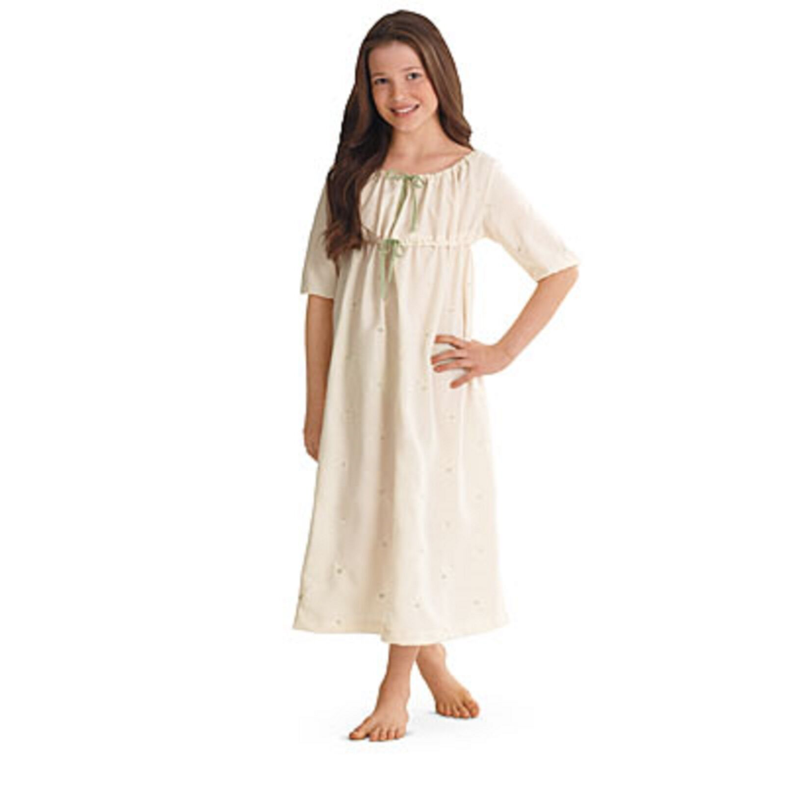 American Girl Marie Grace Embroidered Nightgown Sz Girls 6 RT | eBay