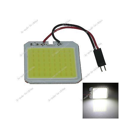 1pcs White 48 Chips COB LED Festoon Dome/Door/Box Light Panel Interior Bulb J308
