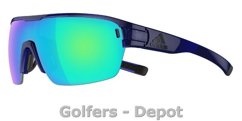Adidas Brille ad06 ZONYK AERO Large bluee shiny 4500 bluee mirror