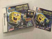 NINTENDO DS DSL DSi GAME Spongebob Squarepants CREATURE FROM THE KRUSTY KRAB PAL