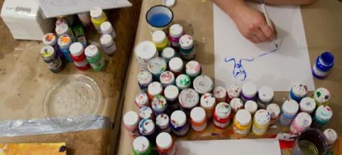 Gemälde Meer Hafen Handarbeit Ölbild Bild Ölbilder Schiffe Rahmen Bilder 06237