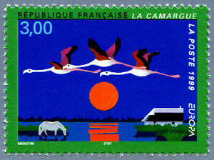 Humour Timbre De 1999 - 3240 - Europa C.e.p.t. La Camargue Technologies SophistiquéEs