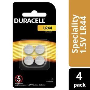 Duracell LR44 Alkaline Batteries 1.5V 4 pack