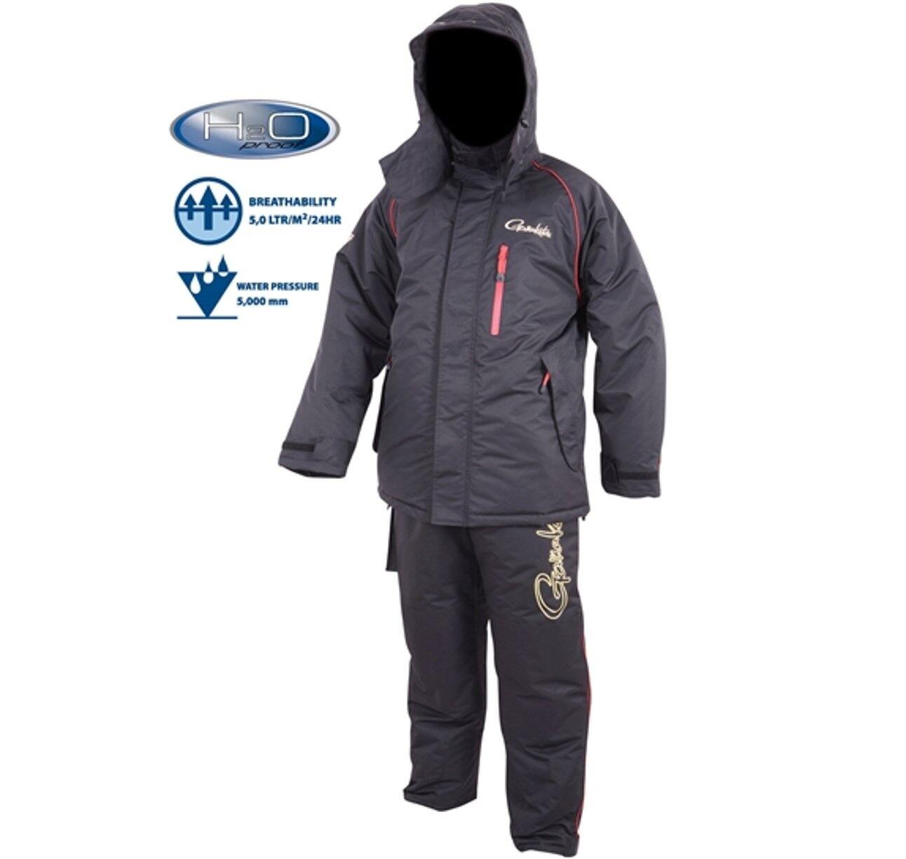 Gamakatsu Power Thermal Suits thermoanzug Noir Taille XXL