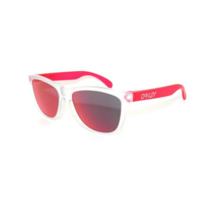 2d02ef8905 Oakley Sunglasses Frogskins Asian Fit Matte Clear Torch Oo9245-5254 ...