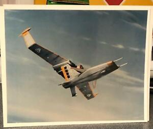 TERRAHAWKS PRESS PHOTO Gerry Anderson BATTLEHAWK IN COLOUR