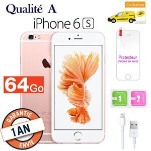 Apple-iPhone-6s-64Go-Or-Rose-Usine-DEBLOQUE-Telephones-Mobiles-Qualite-A