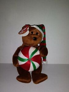 TY YUMMY the BEAR BEANIE BABY - MINT with MINT TAGS