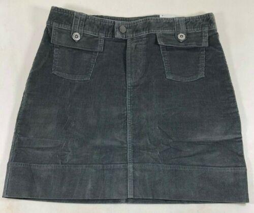Patagonia Gray Corduroy Stretch Cotton Fall Mini Skirt Women/'s 6 NWT $65