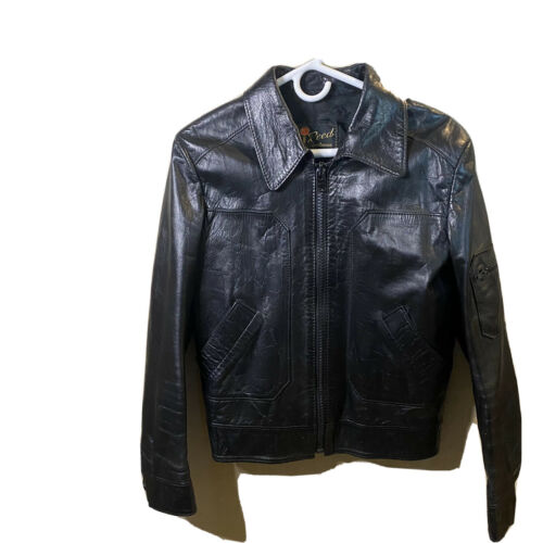 Reed SPORTSWEAR Great Quality Leather Jacket Black