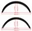New 4pcs Universal Car Body Kits Fender Flares Flexible Durable Polyurethane PU