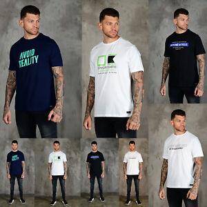 HUMAN-RACE-Mens-Designer-Fashion-Cotton-Graphic-Printed-Crew-Neck-T-Shirt-Tee